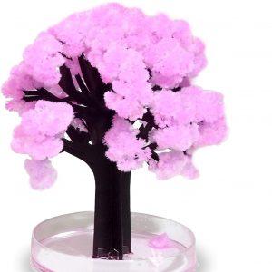 árbol pequeño rosa sakura