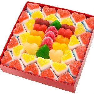 Caja cuches de corazones