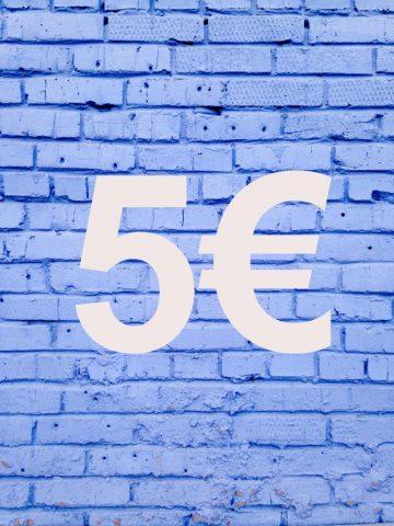 Regalos por 5 euros