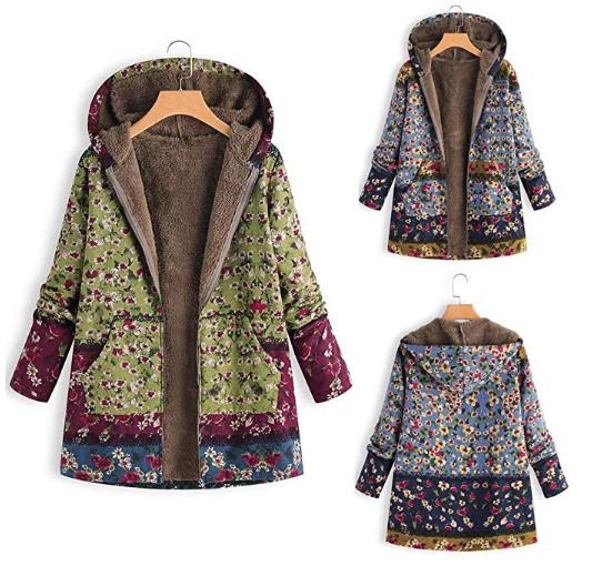 abrigo de invierno para mujer vintage
