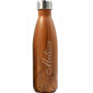 botella personalizada con nombre