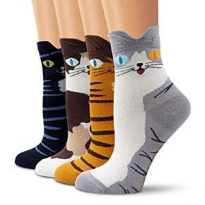 calcetines de animales unisex