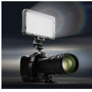 luz de vídeo led regulable