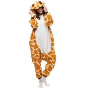 pijama de girafa