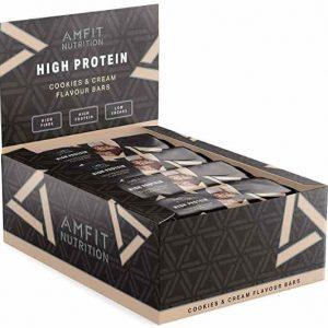 proteínas sabor galleta y caramelo