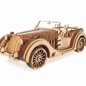 puzzle de madera coche deportivo