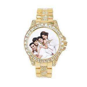 reloj de diamantes personalizado