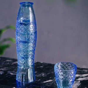 set de vasos pez koi