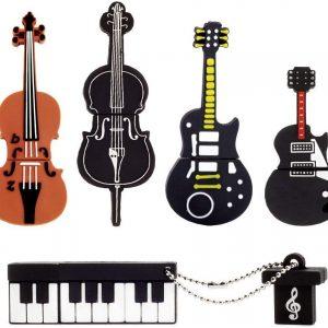 usb de instrumentos musicales