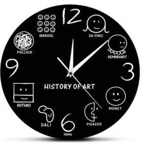 reloj historia del arte