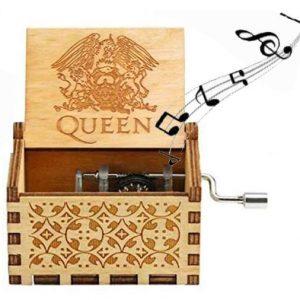 caja musical queen