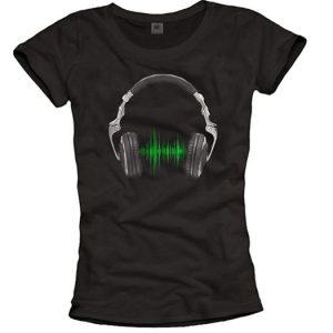 camiseta música electrónica