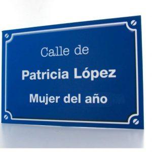 calle personalizada