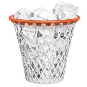 basket papelera