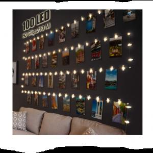 cadenas de luces led