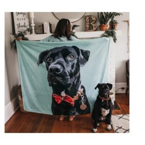 manta personalizada perro